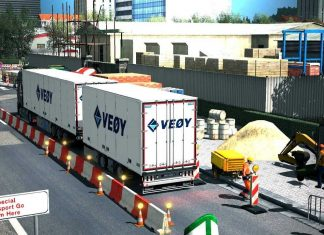 Frankfurt Rebuild v2.1 - Euro Truck Simulator 2 Mod