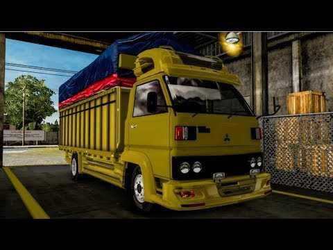 "Modifikasi Truk Mitsubishi ""umplung"" – Euro Truck Simulator 2 Mod"