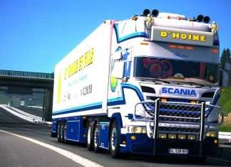 Scania D'HOINE - Euro Truck Simulator 2 Mod