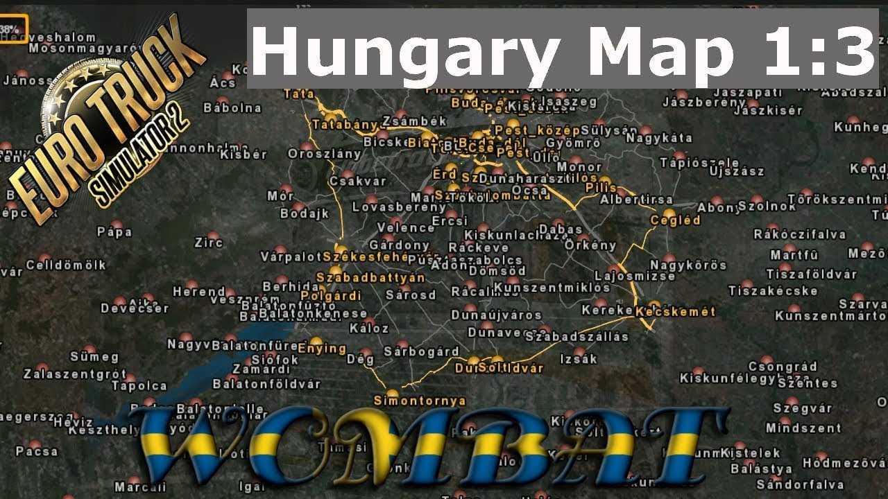 ets2 131 hungary 13 scale map v0928 by frank007 euro truck simulator 2 mods