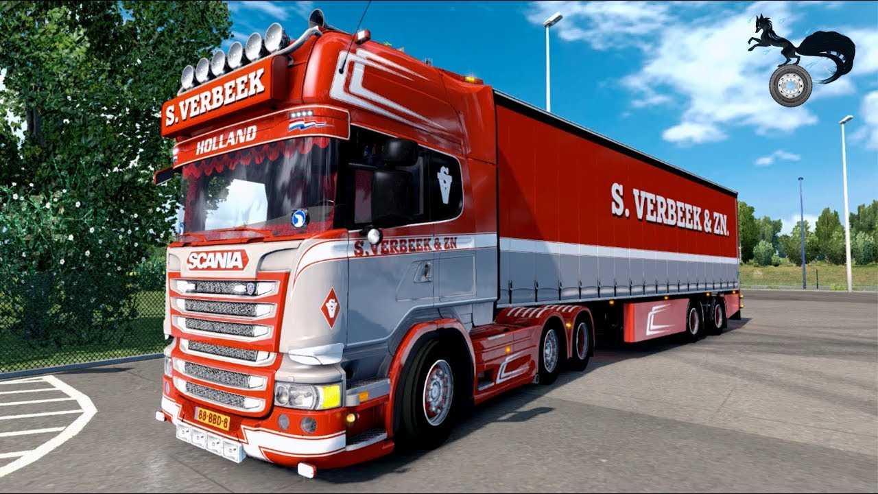 ets2 scania streamline 440 s verbeek metz paris euro truck simulator 2 mods. Black Bedroom Furniture Sets. Home Design Ideas