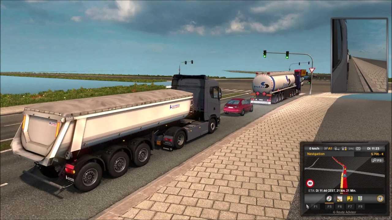 Euro Truck Simulator 2 (1 31 2 6s) – Berlin Map V 0 18 Beta Update