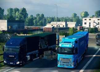 Fikcyjna Wielkopolska v0.7 BETA - Euro Truck Simulator 2 Map