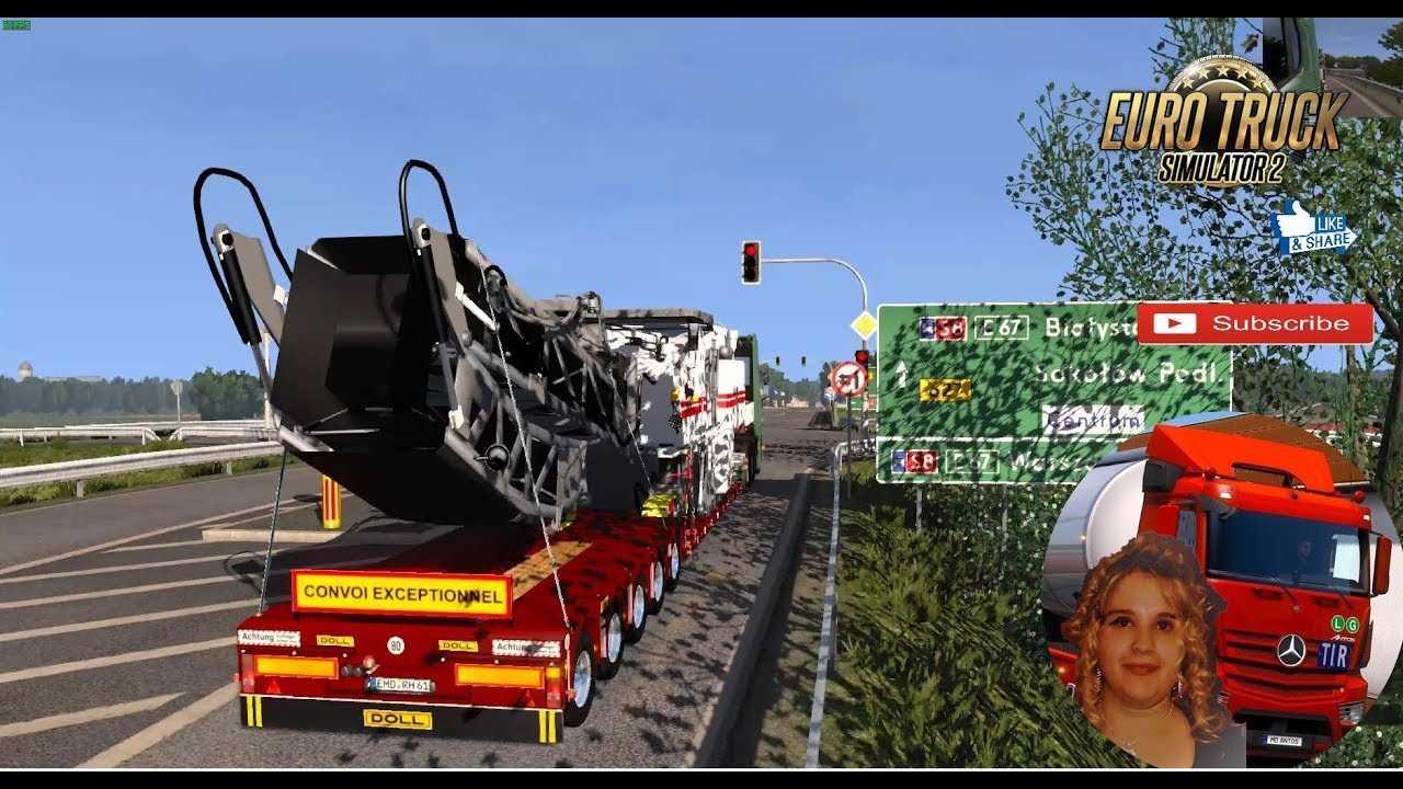 euro truck simulator 2 dolls trailers and cargo. Black Bedroom Furniture Sets. Home Design Ideas