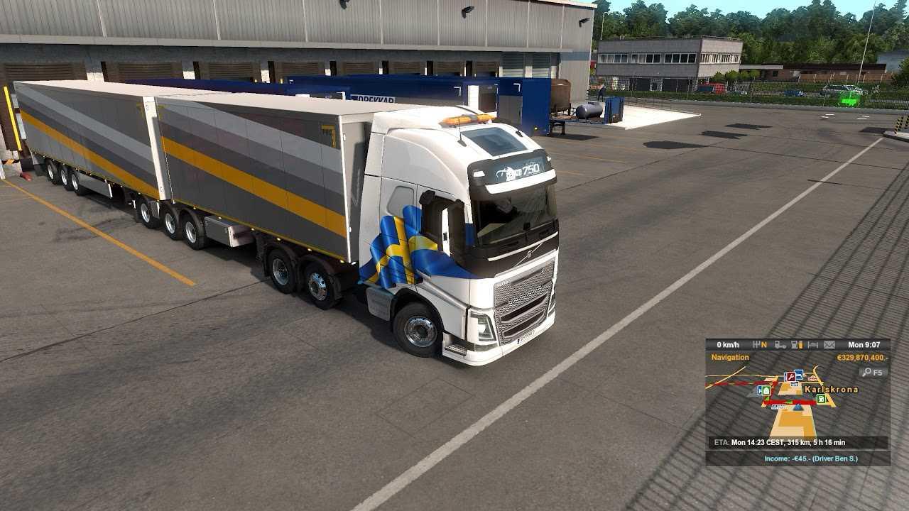 euro truck simulator 2 trailer ownership update b. Black Bedroom Furniture Sets. Home Design Ideas