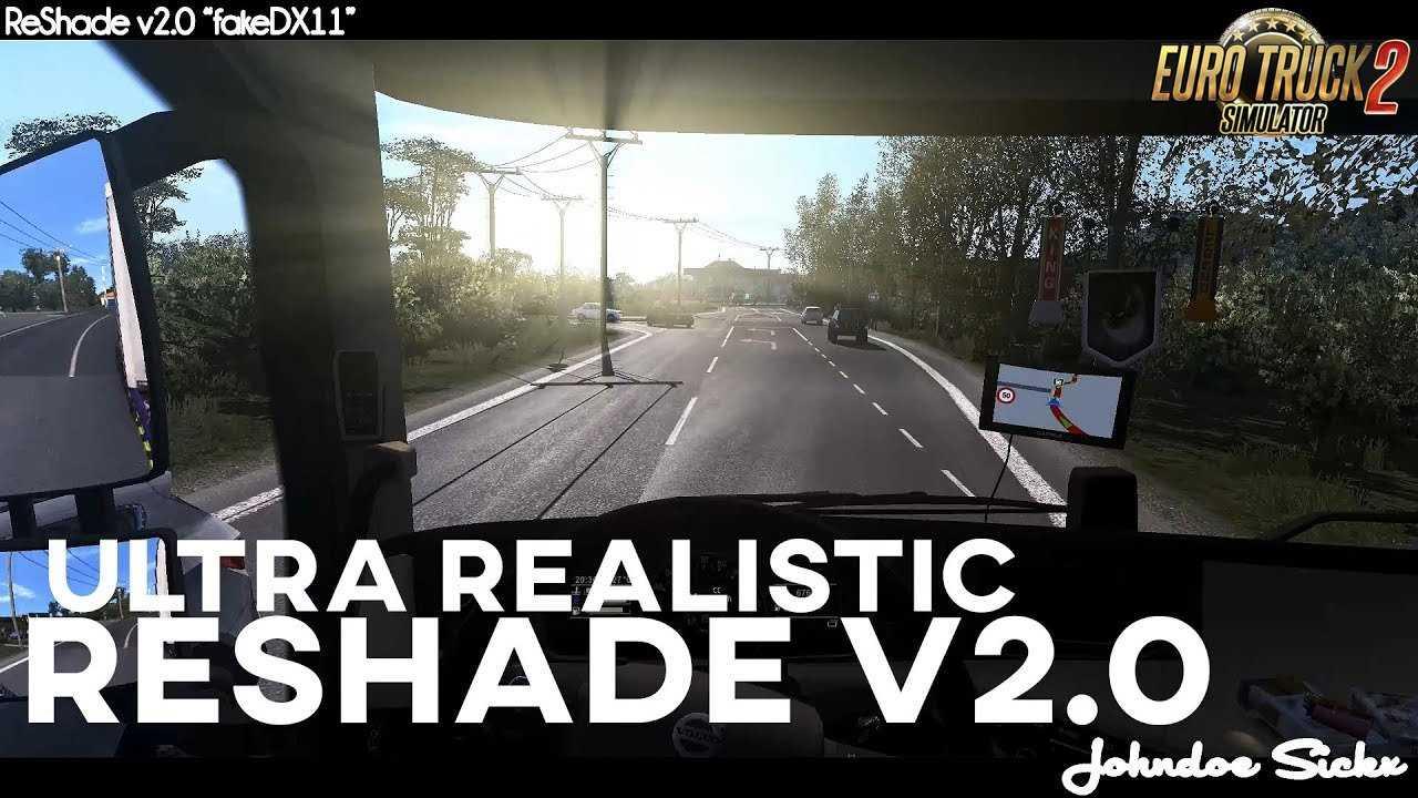 Johndoe Sickx ReShade v2.0 fakeDX11 [1.32]