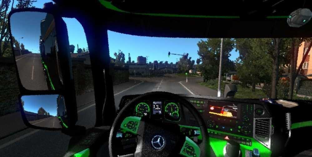 Mercedes Benz New Actors Interior + Dashboard Color Pack