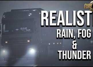 Realistic Rain & Fog & Thunder Sounds v3.7 [1.32.x]