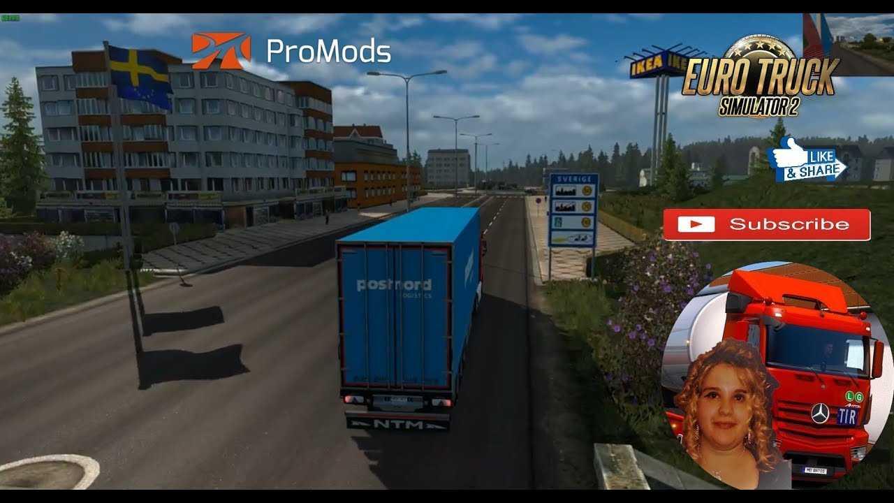 Faaqidaad : Ets2 promods map multiplayer