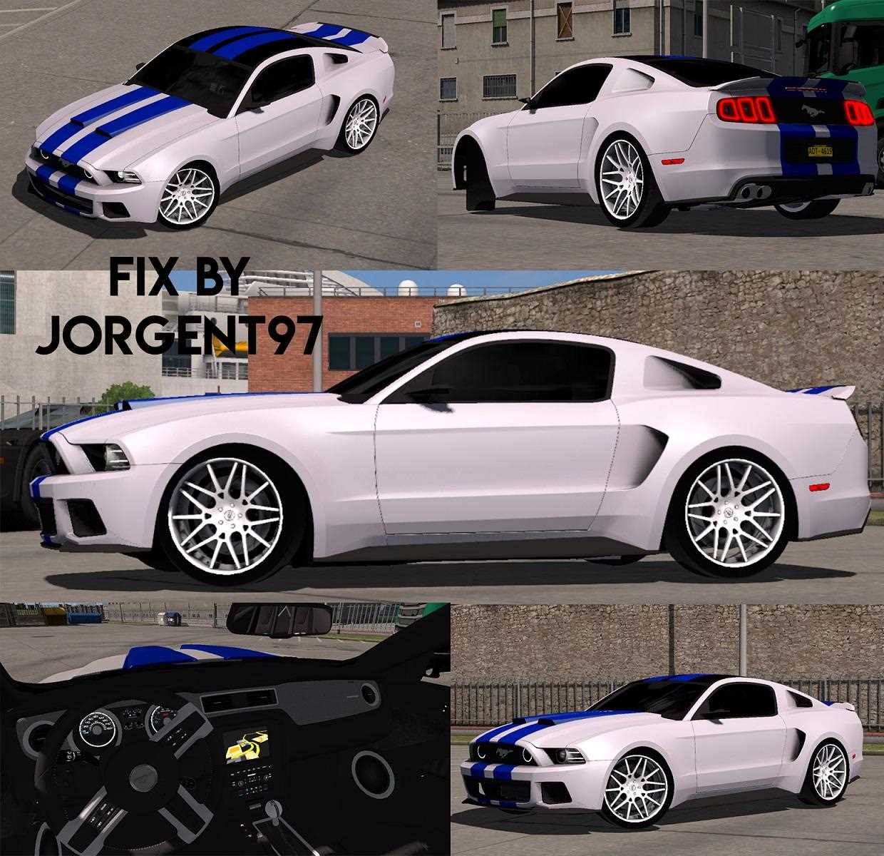 Fix Ford Mustang Byburaktuna24 Nfsmovie V1 33 Car Mod Euro Truck