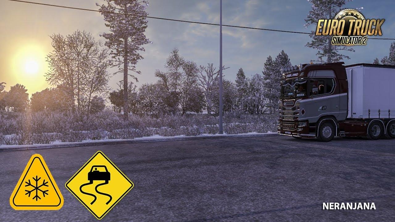 ✨ Euro truck simulator 2 winter mod free download | Euro Truck