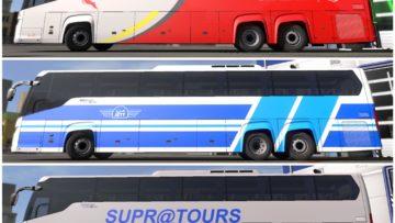 PACK MOHSKINNER BUS SCANIA TOURING V0 2 – 1 33 X ETS2 | Euro