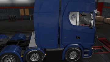 INTERIOR STAMP FOR ALL TRUCKS 1 34 X ETS2 | Euro Truck
