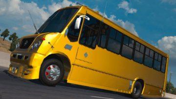 AYCO MAGNO MERCEDEZ BENZ ATS 1 35 X BUS MOD | Euro Truck