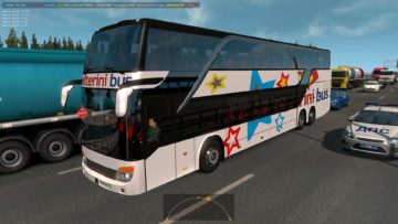 BUSES OF ARGENTINEAN COMPANIES IN TRAFFIC 1 35 X MOD | Euro Truck