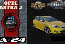 Обзор на Мод Opel Astra J v1.40 для ETS 2 и ATS (1.38.x)