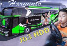 🔴BUS PO.HARYANTO JALUR SELATAN - ETS 2 | MOD | MAP | BUSSID