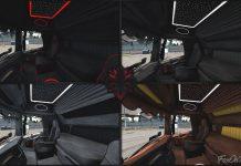 ETS2 1.38 Scania Next Gen CMI Interior Bundle *5 Variants* | Euro Truck Simulator 2 Mod