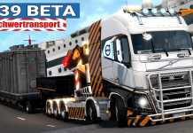 ETS2 1.39 Open Beta I VOLVO FH16 2012 MEGA MOD Schwertransport [#1613] EURO TRUCK SIMULATOR 2