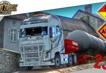 🚚 Euro Truck Simulator 2   #231 MANOEUVRES HARDCORE + Cargaison INFLAMMABLE  👀🔥