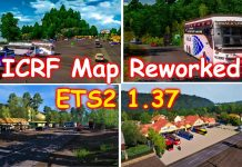 ICRF Reworked Map for ETS2 1.37