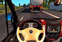 Mercedes Benz Sprinter 2017 - Euro Truck Simulator 2 [Racing wheel gameplay]