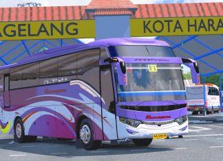Ramayana F1 Start terminal magelang || ets2 bus mod indonesia