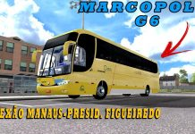 Viagem com marcopolo g6 1200 da itapimirim! (Ets2 Mods)