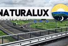 ОБЗОР GRAPHICS MOD NATURALUX V1.2  + RESHADE SETTINGS - [ETS 2] 1.39