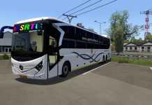 MG Dreamz Bus Mod   Euro Truck Simulator 2 in Telugu   ETS2 Fun Play