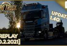 PŘEPRACOVANÉ NĚMECKO V 1.40 | Euro Truck Simulator 2 | 10.2.2021