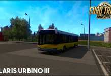 Solaris Urbino III [MOD] - Euro Truck Simulator 2 [v1 39]