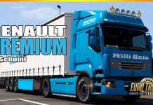 ETS2 MODS - Renault Premium Reworked v4.8 by Schumi [ETS2 1.37]