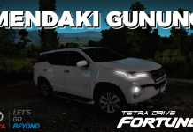 OFFROAD FORTUNER FACELIFT 4X4 - ETS2 Mod Indonesia