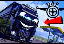 DAF XF CUSTOM TUNING EURO TRUCK SIMULATOR 2 1.40 beta