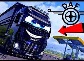 DAF XF CUSTOM TUNING EURO TRUCK SIMULATOR 2 1.40 beta