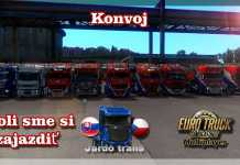Euro truck simulator 2 - Konvoj