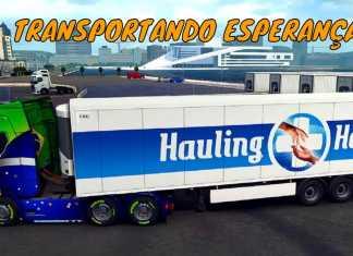 LIVE - EURO TRUCK SIMULATOR 2 - ENTREGA DE VACINAS COVID 19 #HaulingHopeEvent