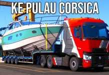 PERTAMA KALI KE PULAU CORSICA | Euro Truck Simulator 2 Indonesia