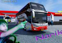 Rosalia Indah Double Decker | ETS 2 | MOD | MAP