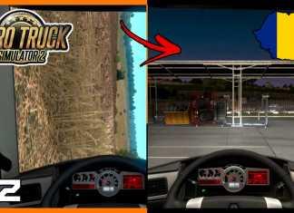 """USEI UM """"ATALHO"""" PARA CHEGAR À CIDADE! - Euro Truck Simulator 2 #92"""