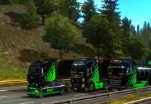 Its convoy time with our crew...#designconvoy #logitechg29 || TruckersMP || Euro Truck Simulator 2