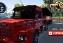 Scania 113H+Reboque Graneleiro  Free Ets2 1.40 Beta/ Detail Map #nossomos 10 #10k