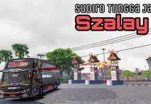 Update !! Test Road Map PKU Pro v2 Bareng STJ Szalay || ETS2 Mod Indonesia