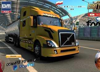 Euro Truck Simulator 2 (1.39) Volvo VNL Series II-III Generation by Nikola Trucks + DLC's & Mods